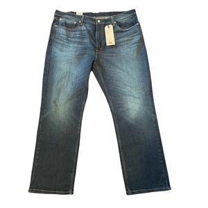 Levi's 514 Straight jeans dark wash inv#17